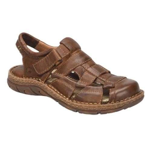 Born Men's Cabot III Sandals Brown