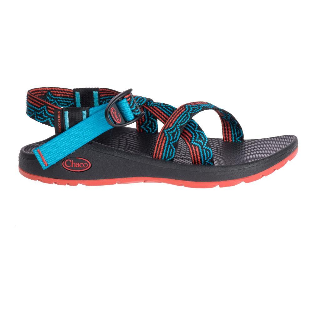 Chaco Women's Z/Cloud Sandals BLIPTEAL