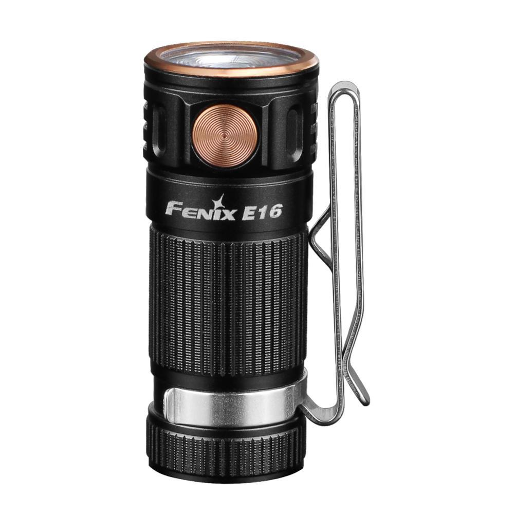 Fenix E16 EDC Rechargeable Flashlight BLACK