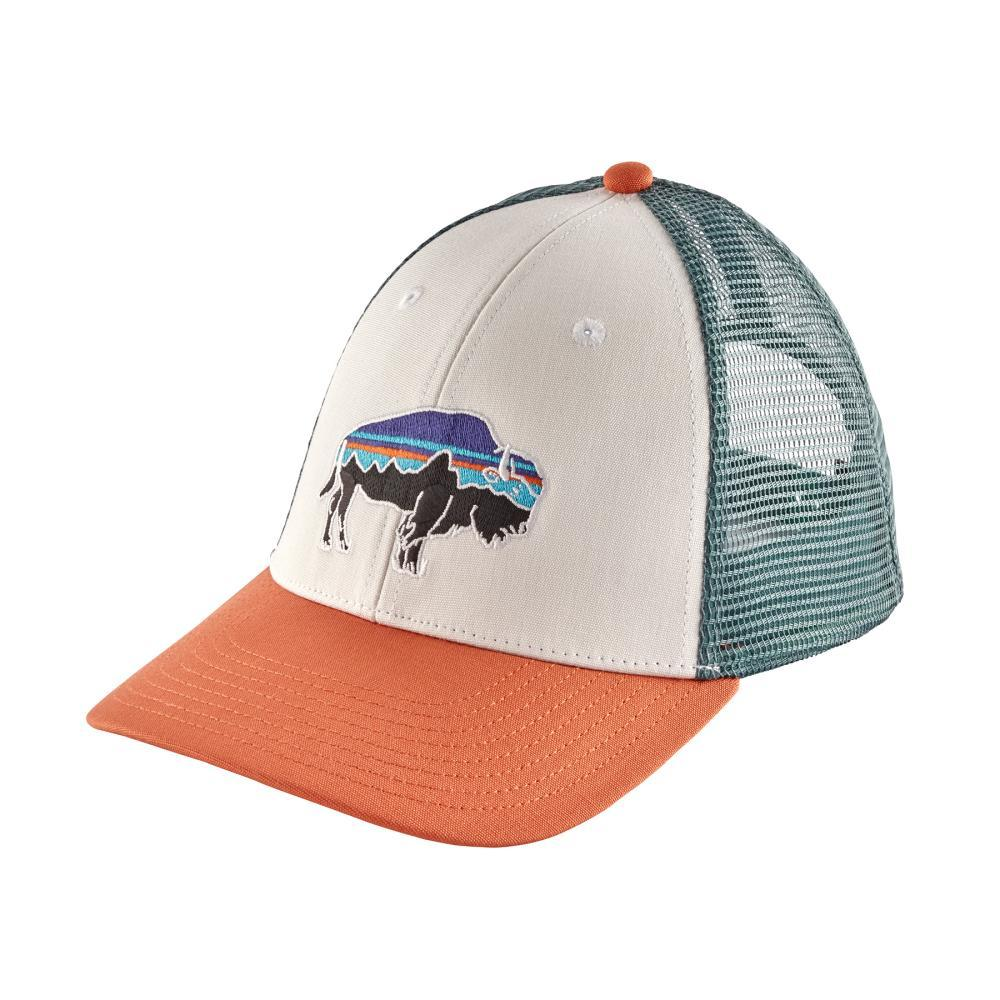 Patagonia Fitz Roy Bison LoPro Trucker Hat WHI