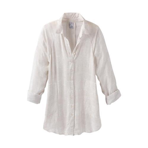 prAna Women's Hele Mai Shirt Whiteakoa