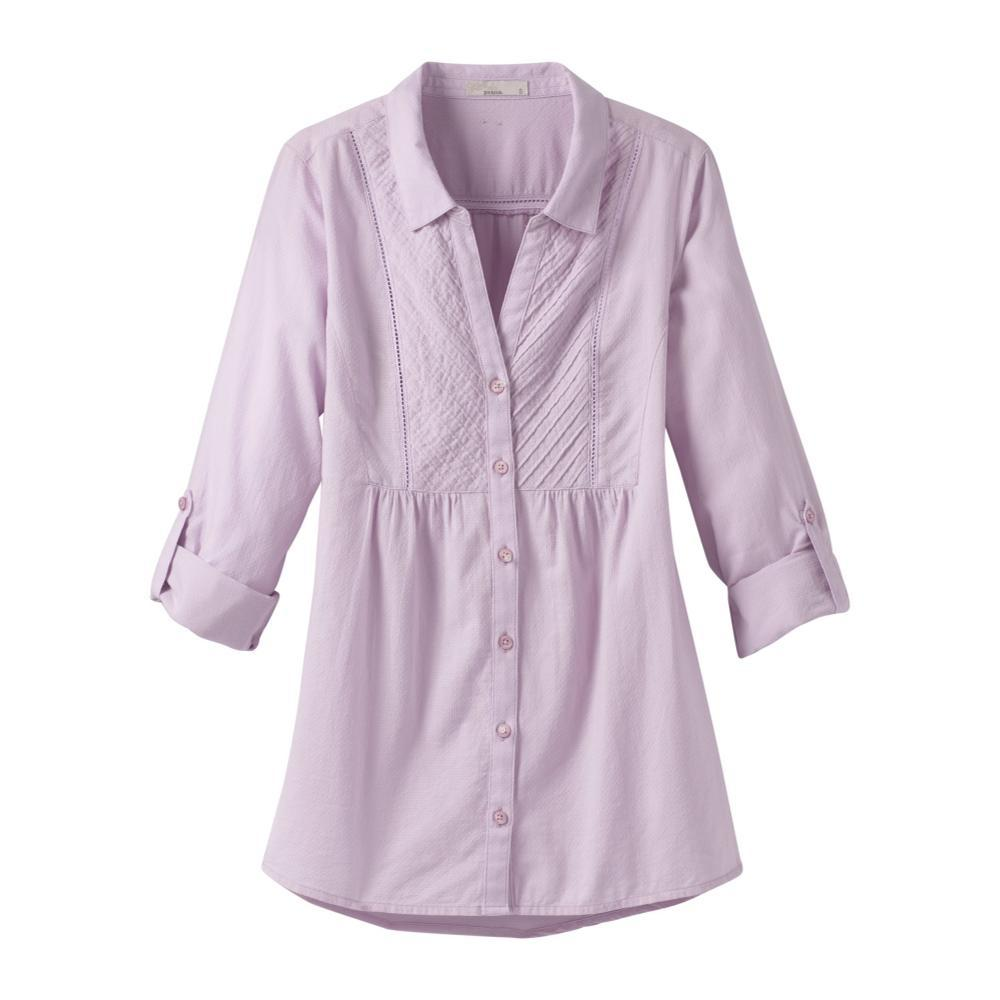 prAna Women's Katya Long Sleeve Top LAVENDER