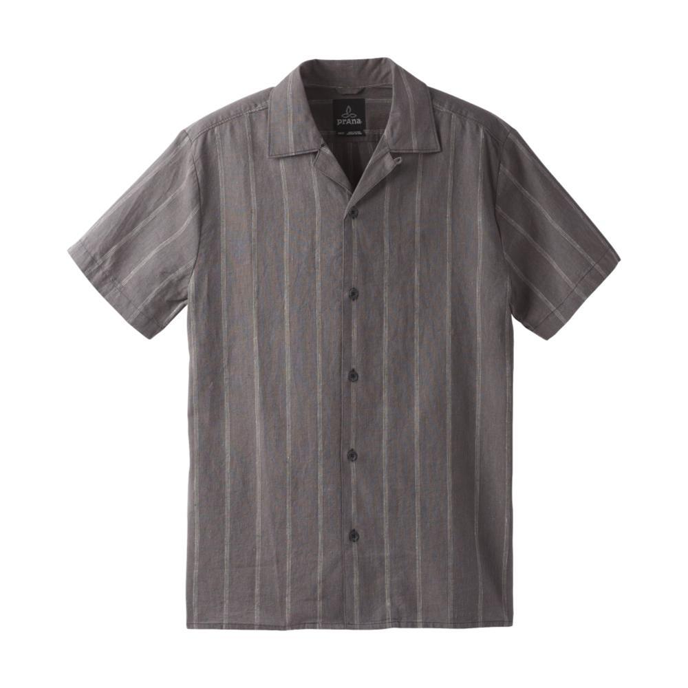 prAna Men's Keilyr Camp Shirt CHARCOAL