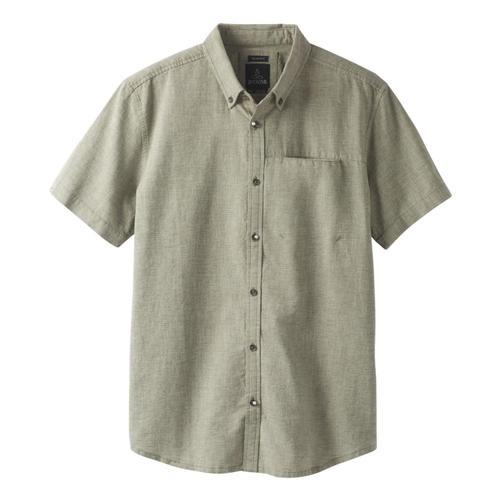 prAna Men's Agua Shirt Cargogrn