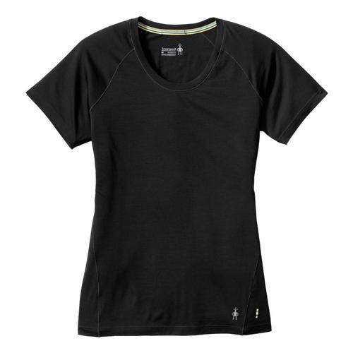 Smartwool Women's Merino 150 Base Layer Short Sleeve Shirt Black_001