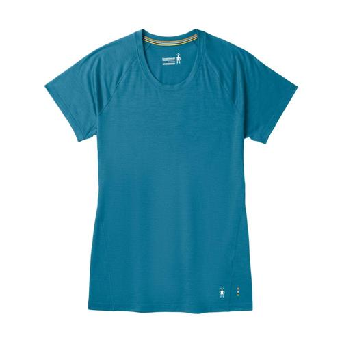 Smartwool Women's Merino 150 Base Layer Short Sleeve Shirt Ltmblu_b38