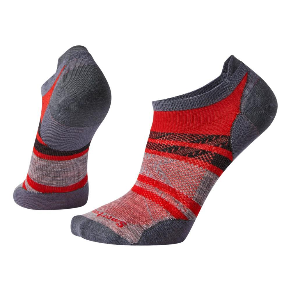 Smartwool Men's PhD Run Ultra Light Pattern Micro Socks ORANGE_823