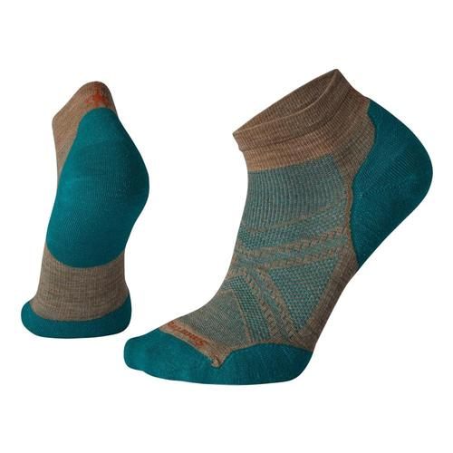Smartwool Men's PhD Run Light Elite Low Cut Socks Fossil_880