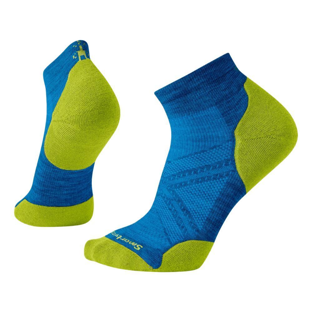 Smartwool Men's PhD Run Light Elite Low Cut Socks NEBLUE_E18