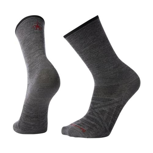 Smartwool Men's PhD Outdoor Ultra Light Crew Socks Mdgray_052