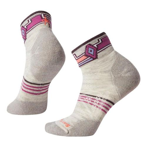 Smartwool Women's PhD Outdoor Light Pattern Mini Socks Ash_069
