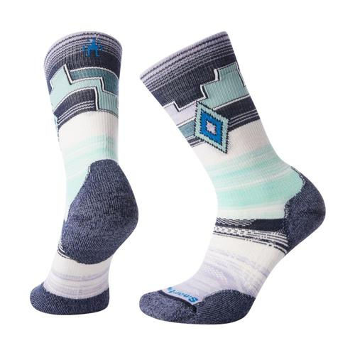 Smartwool Women's PhD Outdoor Light Pattern Crew Socks Pplmst_a26