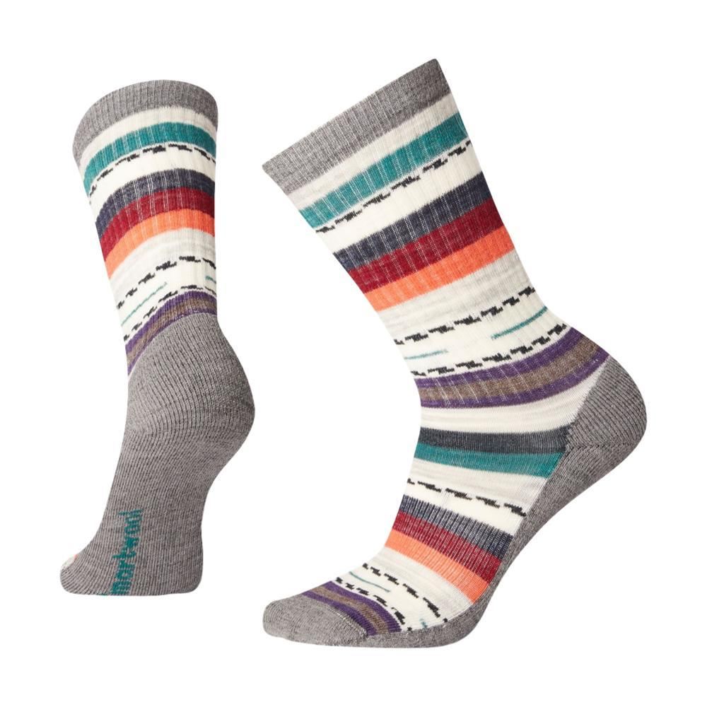 Smartwool Women's Hike Light Margarita Crew Socks MDGRAY_052