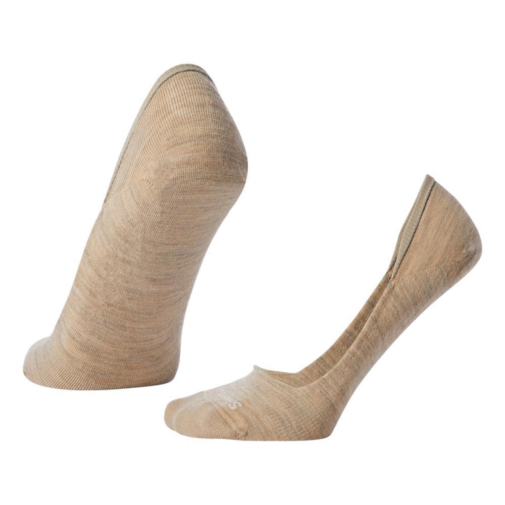 Smartwool Women's Secret Sleuth No Show Socks OATMEL_241