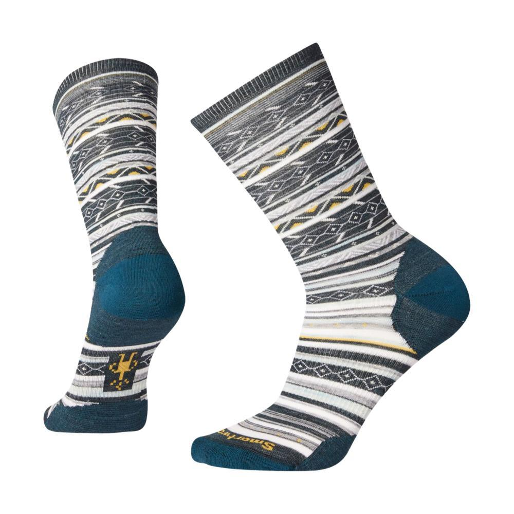 Smartwool Women's Ethno Graphic Crew Socks EVERGL_B96