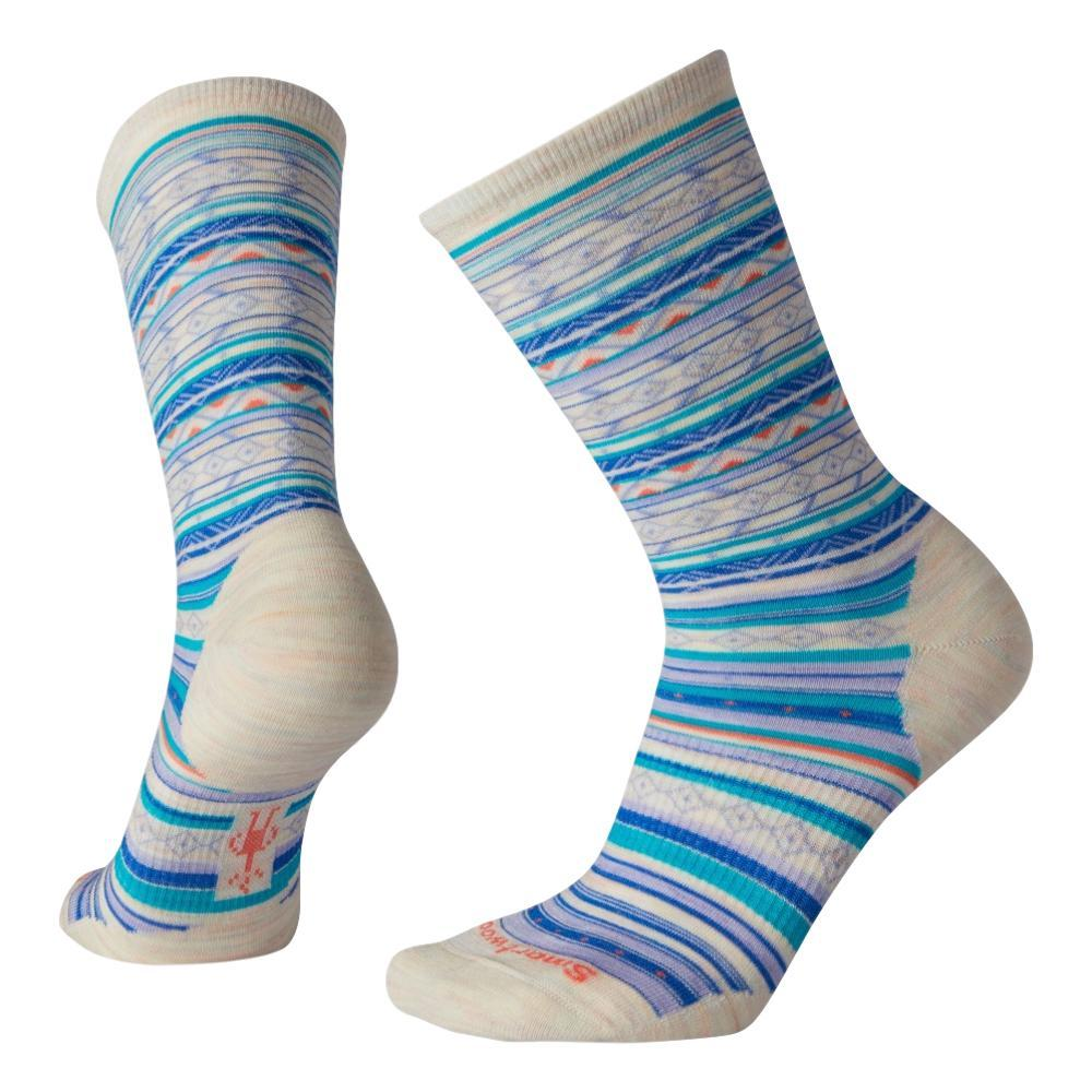 Smartwool Women's Ethno Graphic Crew Socks MOONBE_A81