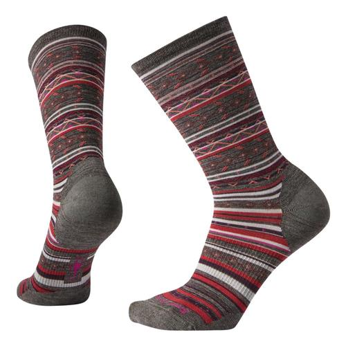 Smartwool Women's Ethno Graphic Crew Socks Taupe_236
