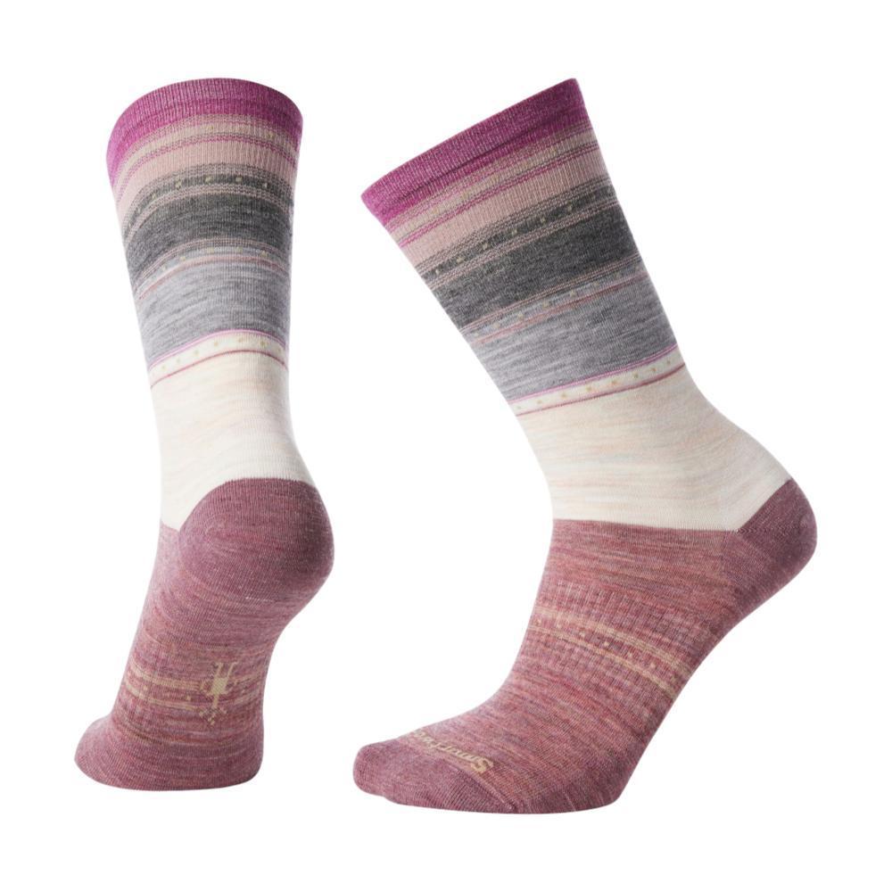Smartwool Women's Sulawesi Stripe Crew Socks MOONBE_A81