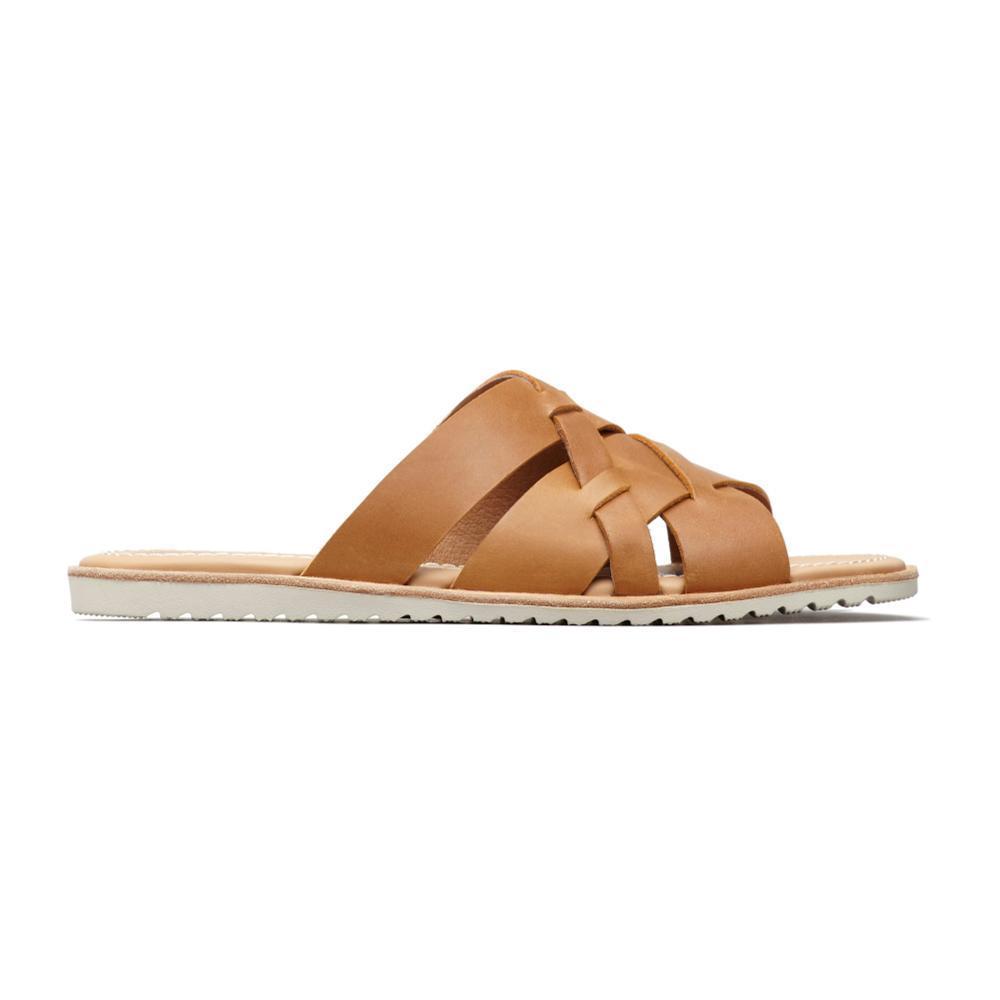 Sorel Women's Ella Slide Sandals CAMEL_224