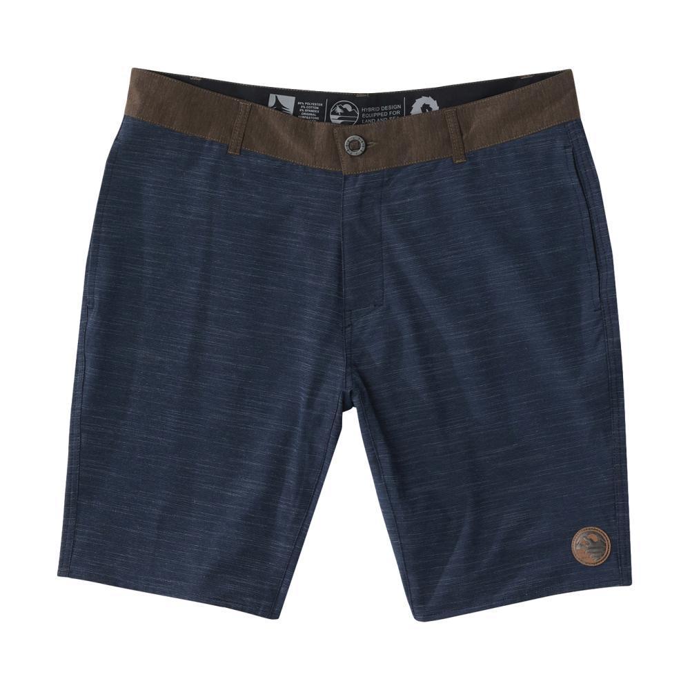 HippyTree Men's Tulsa Hybrid Shorts NAVY