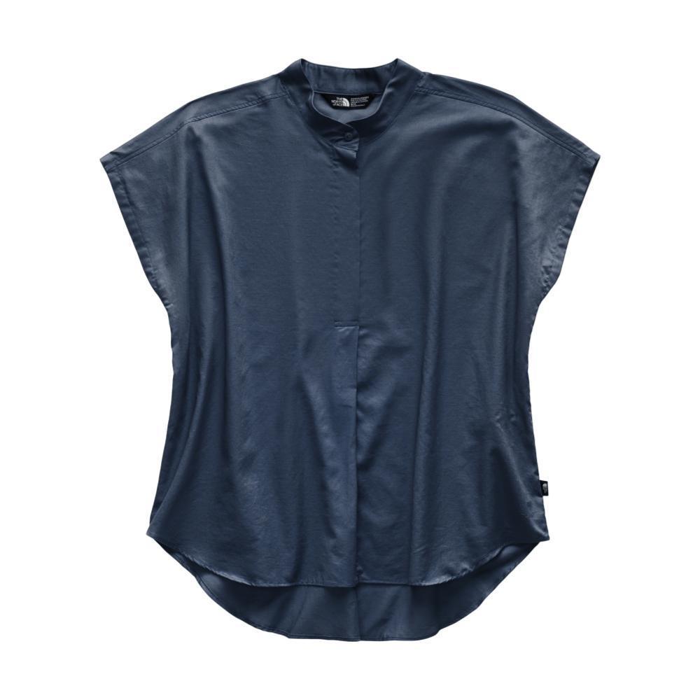 The North Face Women's Short Sleeve Desercana Shirt TEAL_N4L