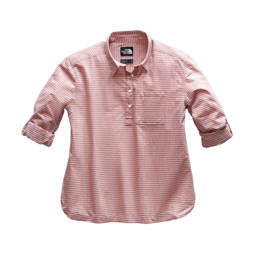 The North Face Women's Long Sleeve Bayward Shirt CORAL_9YQ