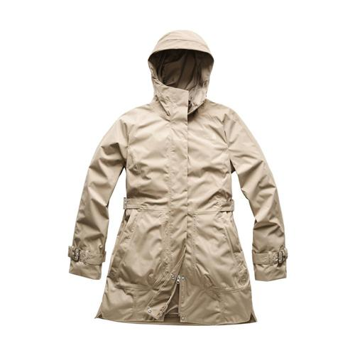 The North Face Women's City Breeze Rain Trench Beige_zbv