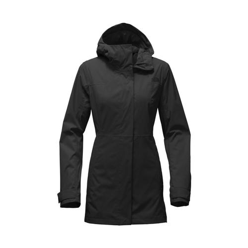 The North Face Women's City Midi Trench Black_jk3