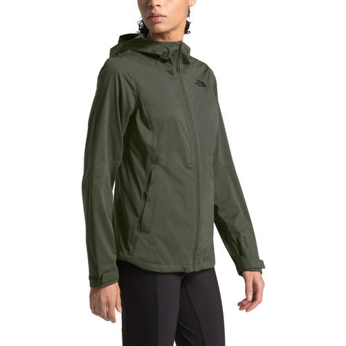 The North Face Women's Allproof Stretch Jacket Green_21l