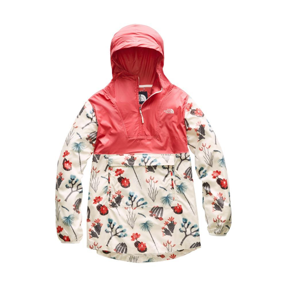 The North Face Women's Printed Fanorak CORAL_AT3