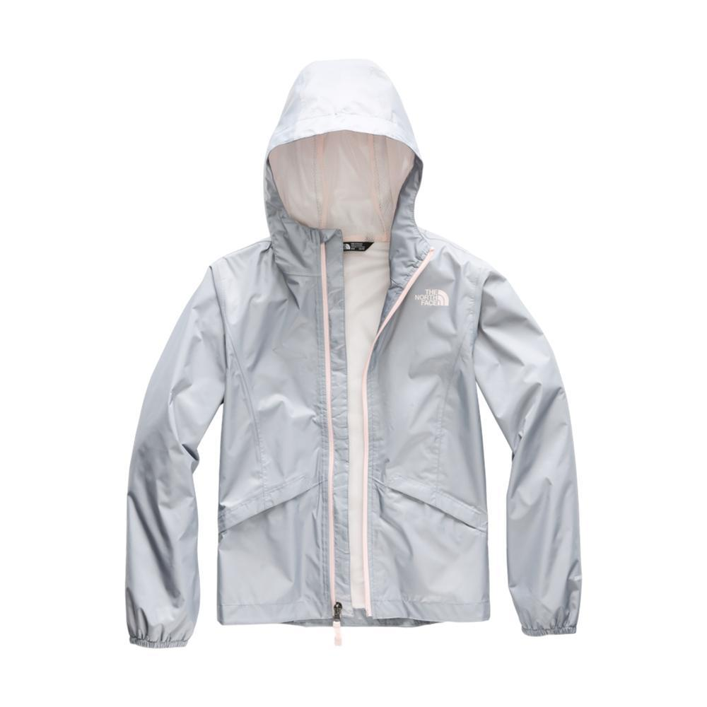 The North Face Girls Zipline Rain Jacket GREY_V3T