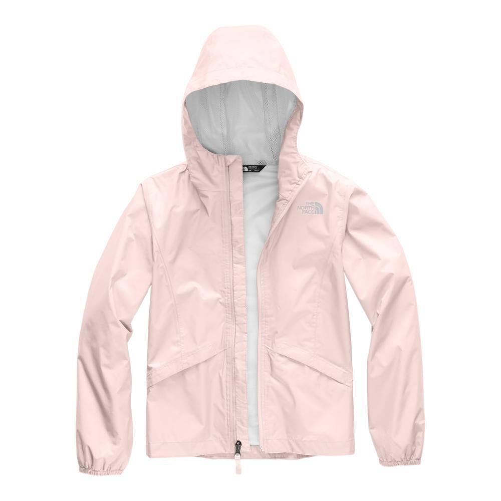 The North Face Girls Zipline Rain Jacket PINK_8ED
