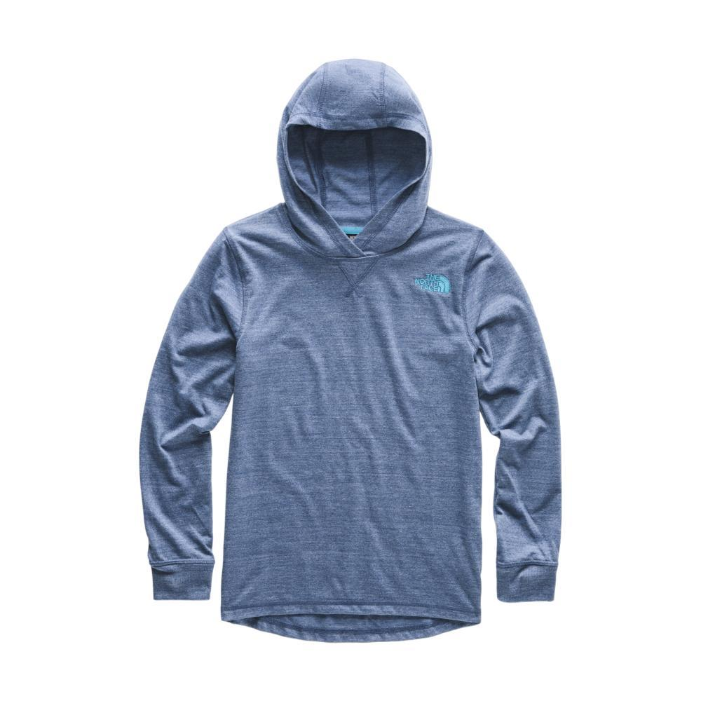 The North Face Boys Tri-Blend Pullover Hoodie BLUE_HKW