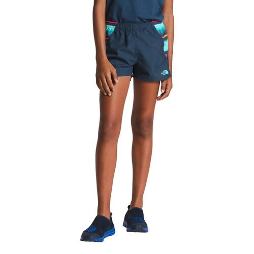 The North Face Girls Class V Water Shorts Teal_n4l