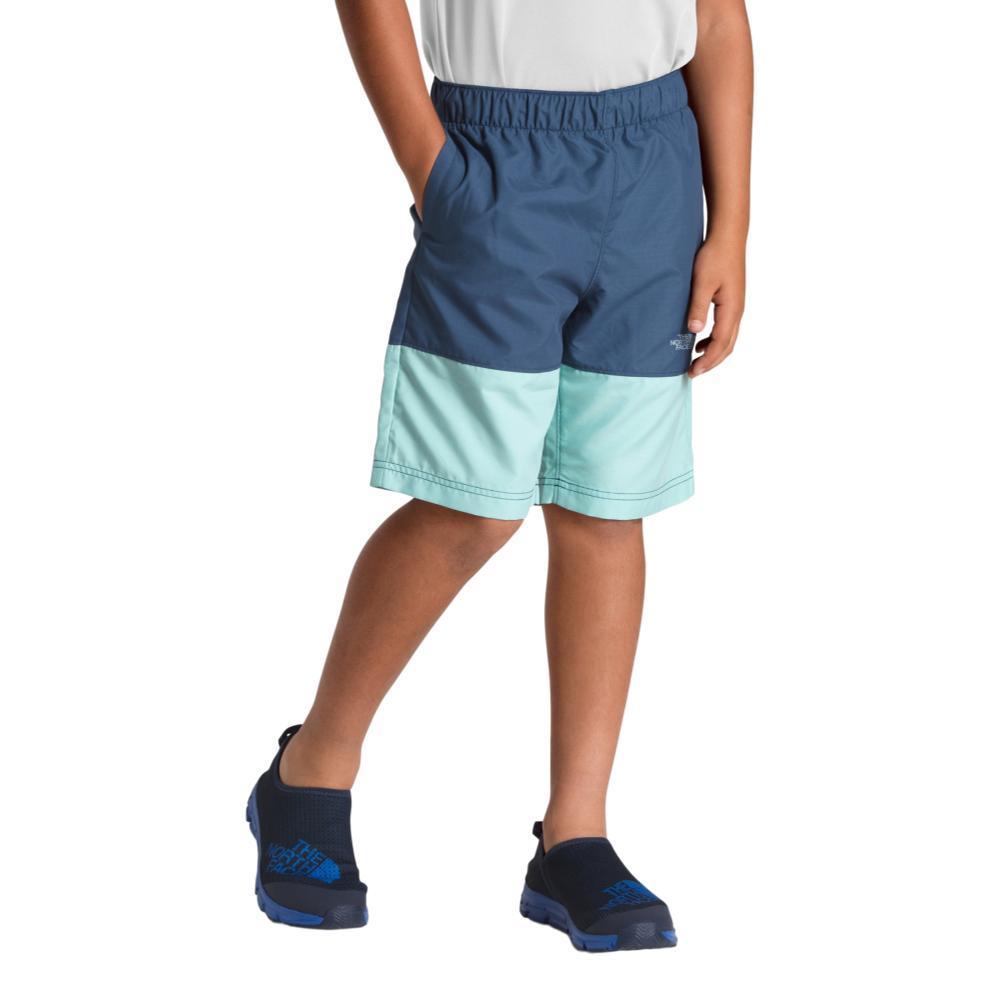 The North Face Boys Class V Shorts BLUSTRP_9GA