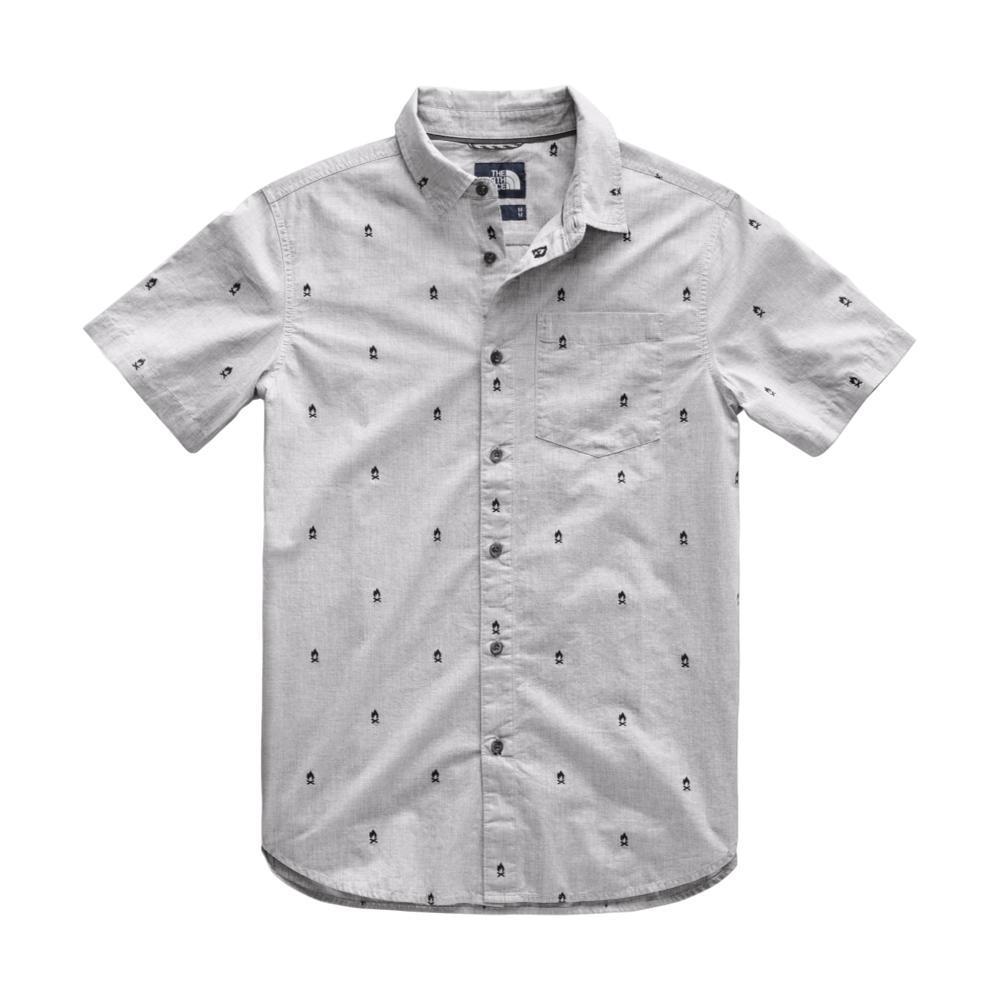 The North Face Men's Short Sleeve Bay Trail Jacquard Shirt 9XA_LTGRY