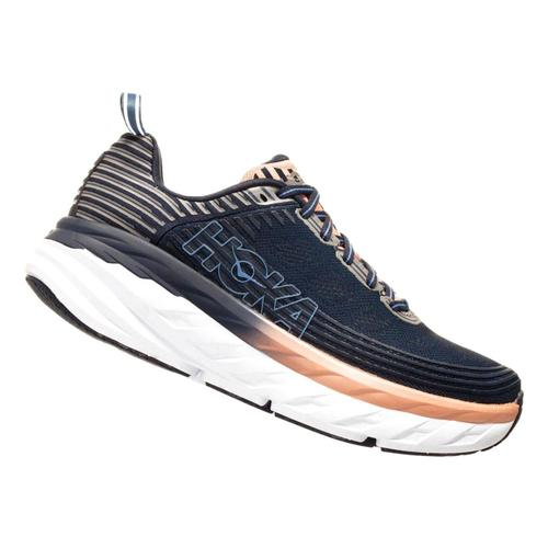 HOKA ONE ONE Women's Bondi 6 Running Shoes Mdindg.Dpnk_midp