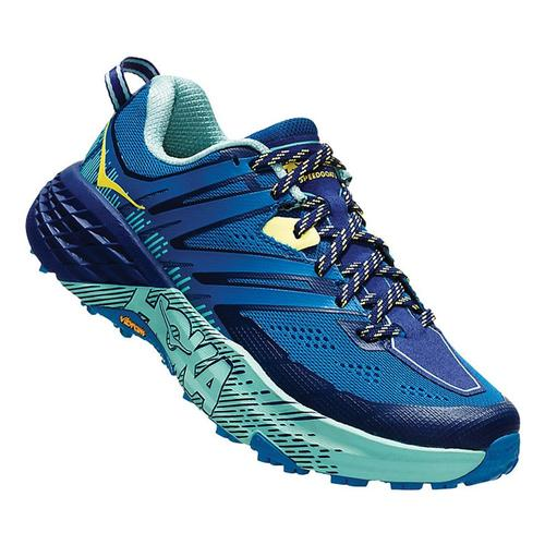 HOKA ONE ONE Women's Speedgoat 3 Trail Running Shoes Sept.Mdblu_smlb