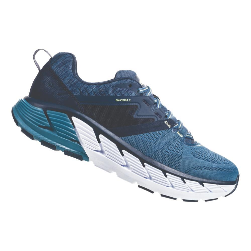 HOKA ONE ONE Men's Gaviota 2 Road Running Shoes MOCN.ABLU_MOAB