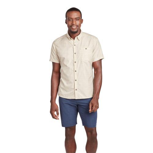 KUHL Men's Krossfire Short Sleeve Shirt Ltkhaki
