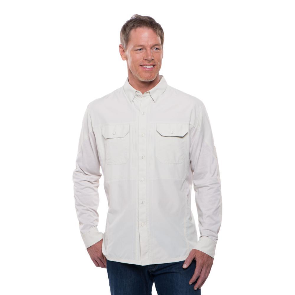 KUHL Men's Airspeed Long Sleeve Shirt NATURAL