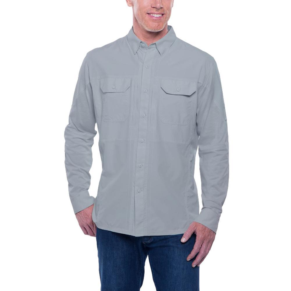 KUHL Men's Airspeed Long Sleeve Shirt SLATE