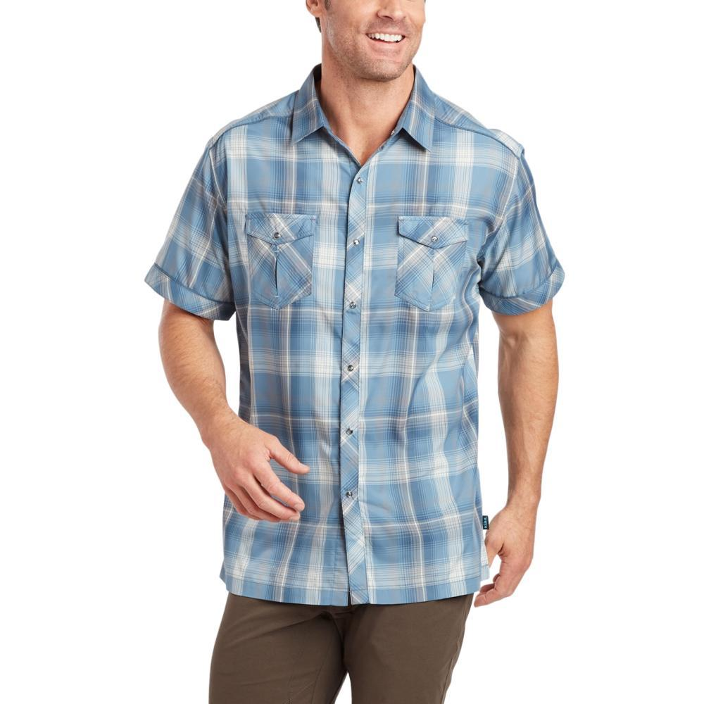 KUHL Men's Konquer Short Sleeve Shirt SLTBLUE