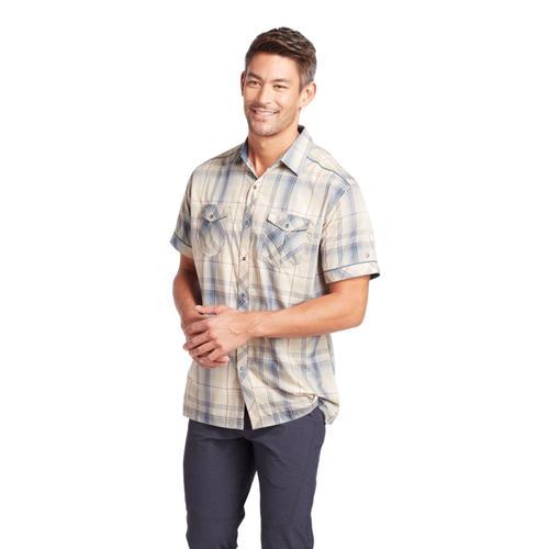 KUHL Men's Konquer Short Sleeve Shirt Stonew
