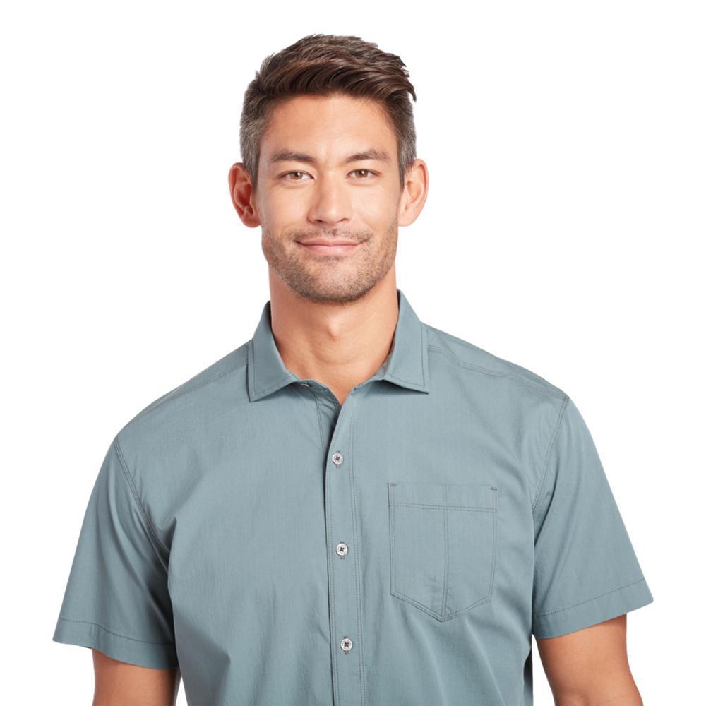 KUHL Men's Rejectr Short Sleeve Shirt BBLUE