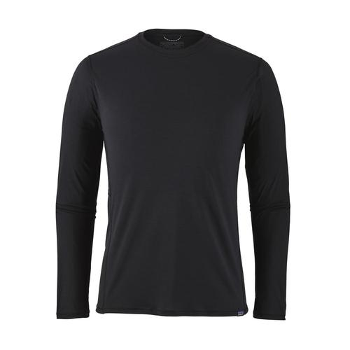 Patagonia Men's Long Sleeved Capilene Cool Lightweight Shirt Blk