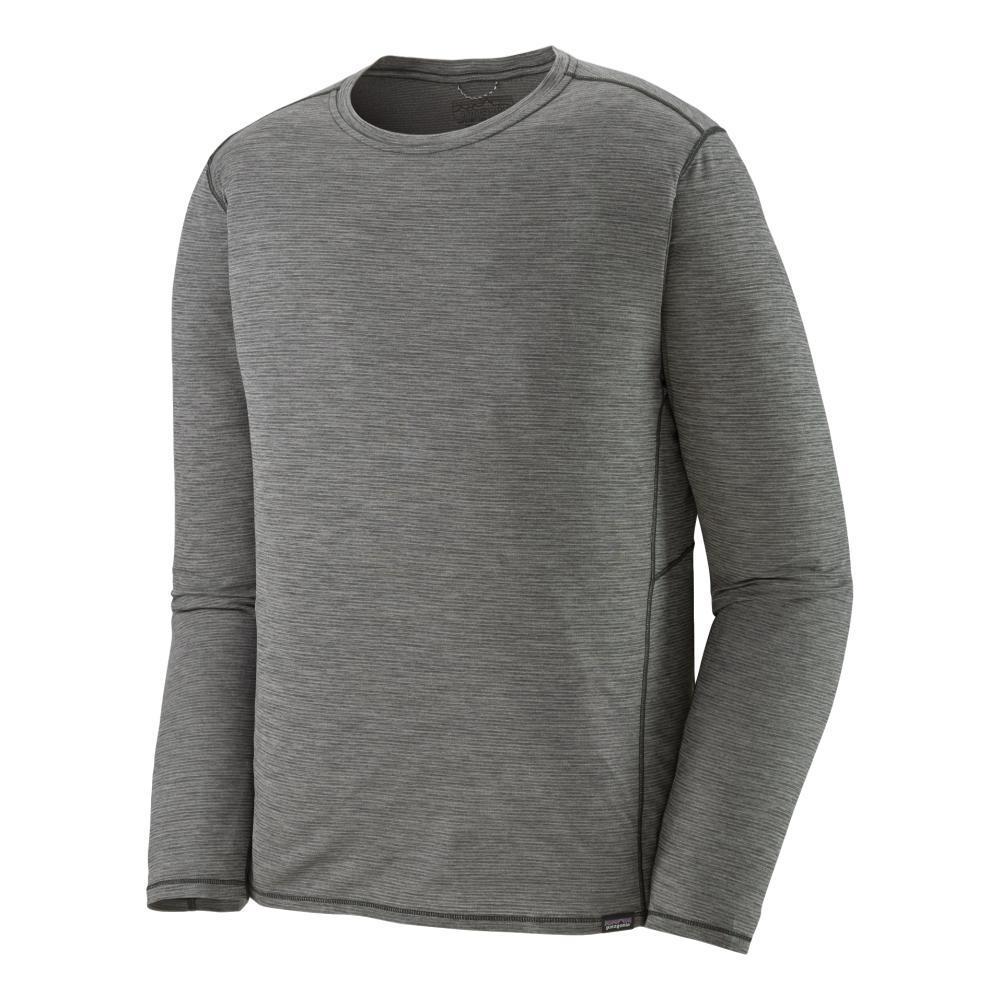 Patagonia Men's Long Sleeved Capilene Cool Lightweight Shirt GREY_FGX