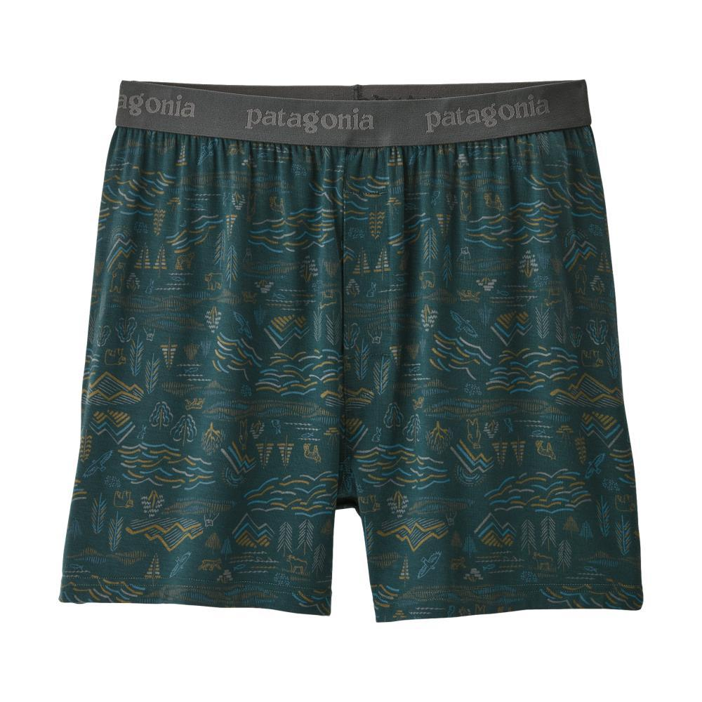 Patagonia Men's Essential Boxers - 6in KTPG