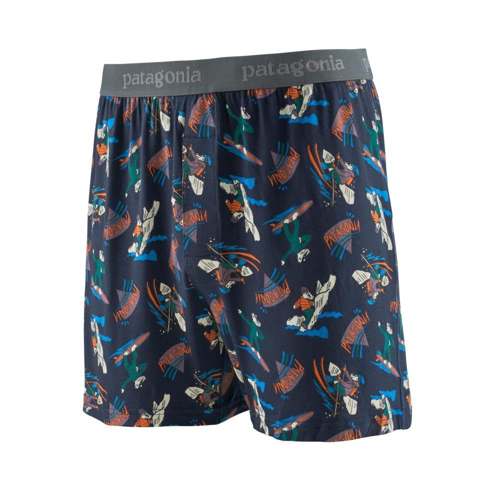 Patagonia Men's Essential Boxers - 6in NAVY_MBNY