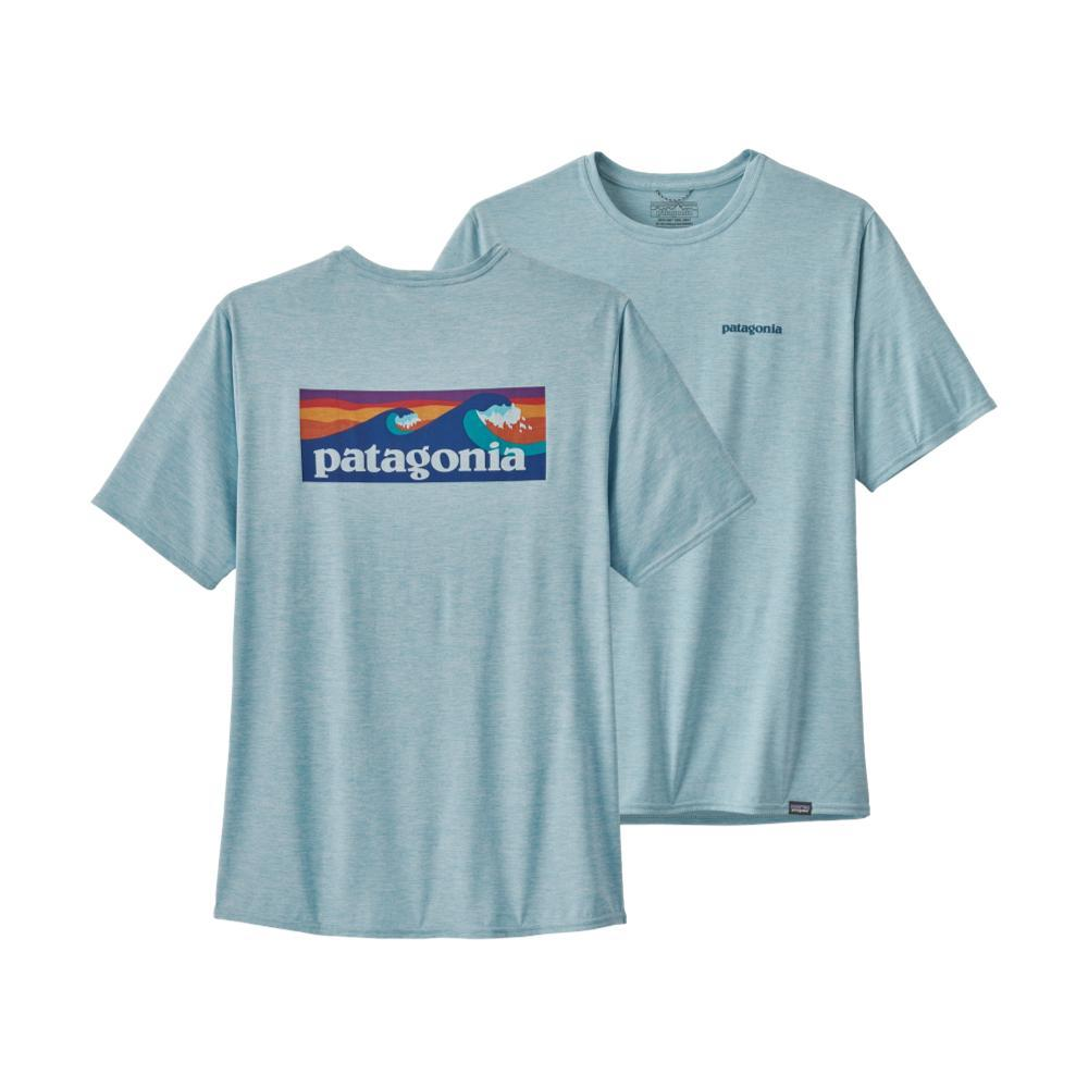 Patagonia Men's Capilene Cool Daily Graphic Shirt SKBLU_BLBY